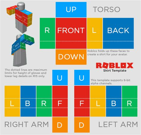 roblox shirt template how to make shirts and roblox developer wiki