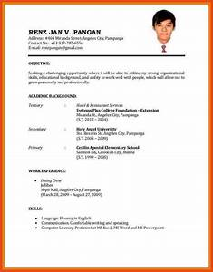 form of resume application safero adways With simple resume app