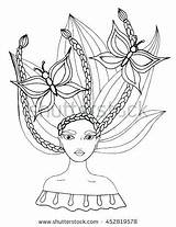 Coloring Pages Salon Beauty Hair Getcolorings Printable sketch template