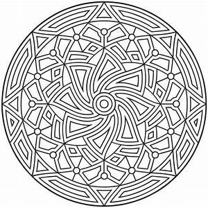 Ausmalen Als Anti Stress Arabische Welt Mandala