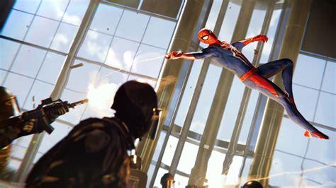 Spider Man 2018 Ps4 Game Hd 4k Wallpaper