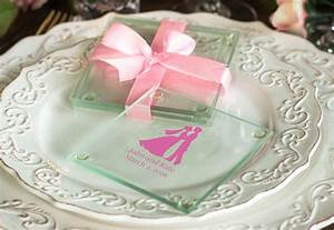 personalized glass coasters With glass coasters wedding favors