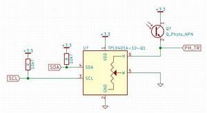Phototransistor With Digital Potentiometer