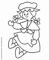 Doll Coloring Pre Printable Rag Colouring Dolls Sheets Sheet Kindergarten Cartoon Honkingdonkey Lol Activity Prek Barbie Shapes Students Ann Disney sketch template