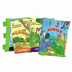 Livre Oreiller 123 Jungle Club Jouet Achat De Jeux Et