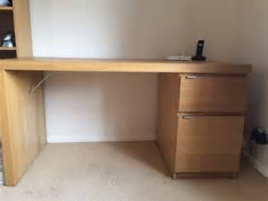 ikea malm desk oak office furniture equipment office