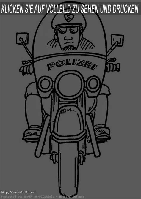 polizei  ausmalbild