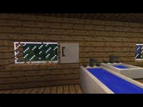 tuto minecraft comment faire une salle de bain