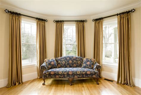 cambria curtain rods for bay windows custom curtains custom curtains new orleans drea