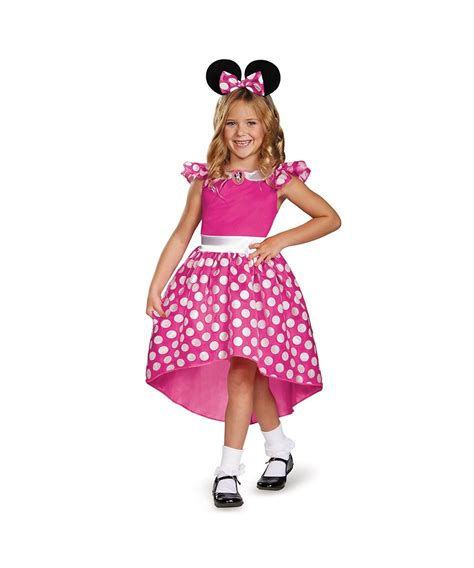 Pink Minnie Mouse Toddler Girls Costume  Girls Costume