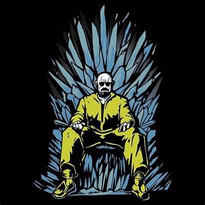 Breaking Bad Thrones Walter Throne Crystal Heisenberg