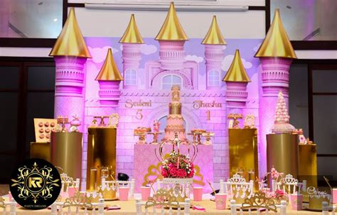 golden princess castle birthday birthday party ideas