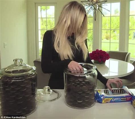 Oreo Cookie Jar Khloe Kardashian Khloe Kardashian S Grocery Store Must Haves Include