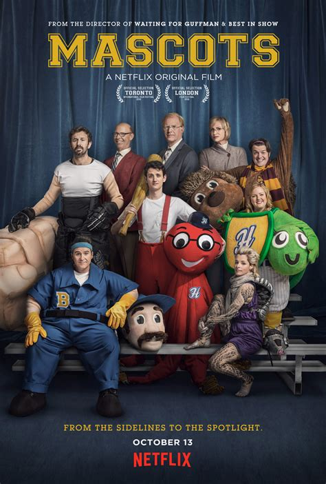mascots christopher guests  comedic film