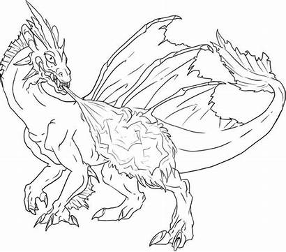 Coloring Flying Dragon Dragons Pages Popular
