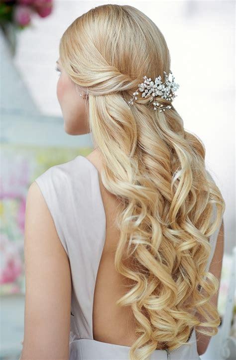 elegant  beautiful wedding hairstyles