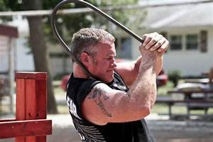 Strongman And Reality Tv Star Faces Tough Workout At The
