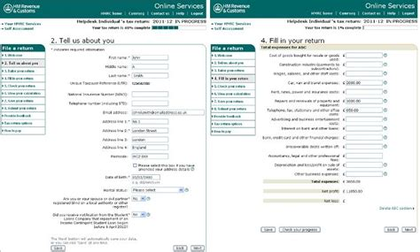 report a company to hmrc how to complete hmrc s online self assessment filing