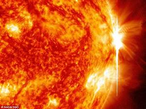 Sun sends 28 solar flares erupting through space in a week ...