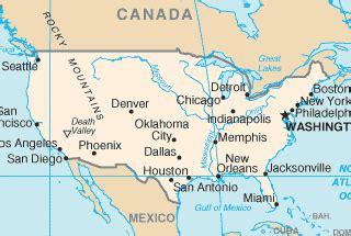 Carte Usa Villes Philadelphie by Etats Unis Climat M 233 T 233 O Et Guide De Voyage
