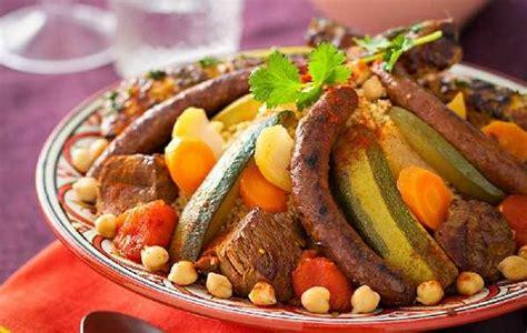 fourchette cuisine couscous royal marocain couscous plats du maroc
