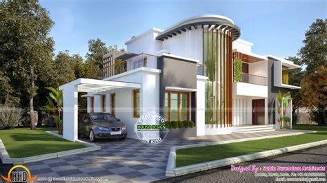 new home design new modern villa plan kerala home design bloglovin