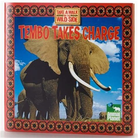 kohls cares  kids animal planet book tembo takes charge