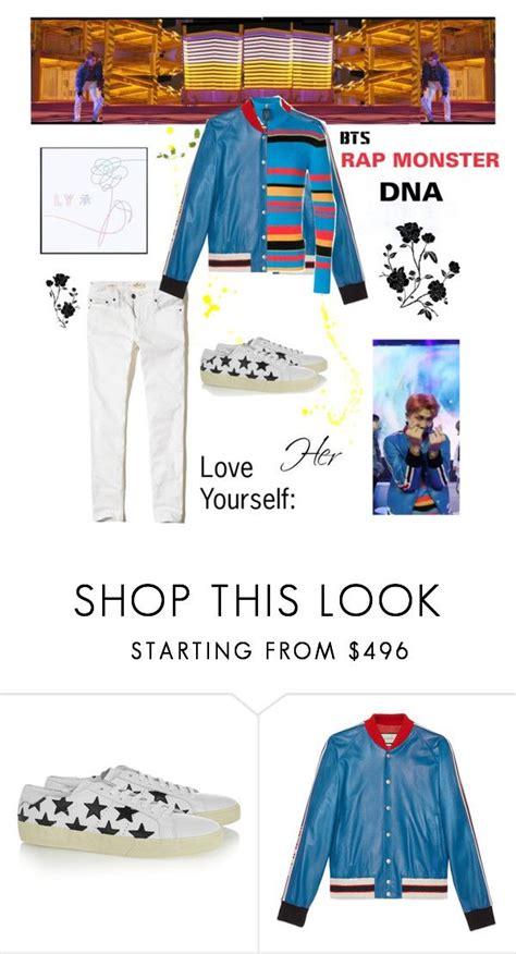 BTS RAP MONSTER u0026quot;DNAu0026quot; M/V Outfit   Moda coreana Ropa y Estilismos inspirados