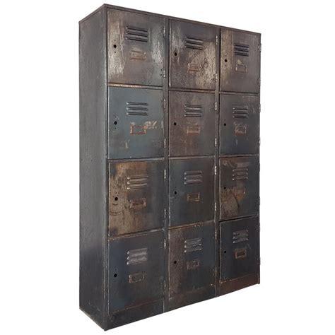 antique american school wood lockers  sale  stdibs