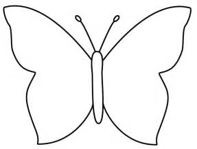 basic outlines simple outlines of butterflies clipart best