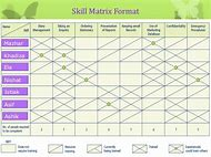 Best 25 ideas about training matrix find what youll love skills matrix template pronofoot35fo Image collections