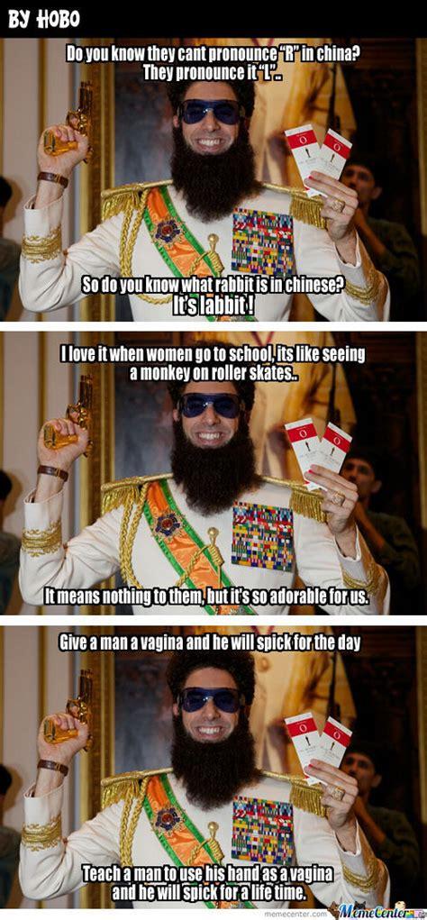 The Dictator Memes - the lovely dictator by hobo meme center