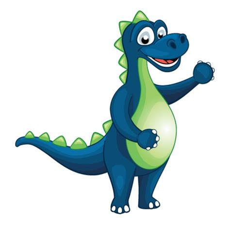 Free cartoon dino vector download in ai, svg, eps and cdr. Kids Club Dino Animation Cartoon - Clip Art Library