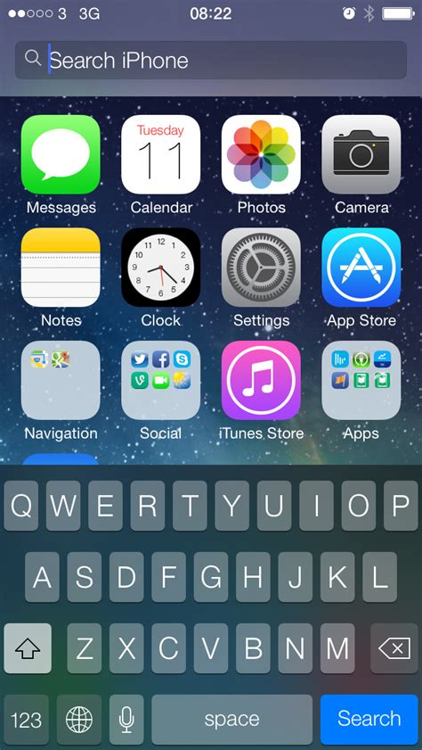 spotlight search iphone how to access spotlight search on iphone and in ios 7