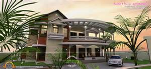 great house designs flat roof contemporary house in 1853 sq keralahousedesigns