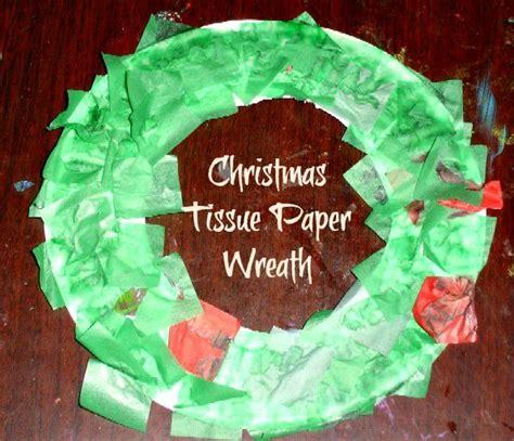 tissue paper wreaths ideas  pinterest tissue