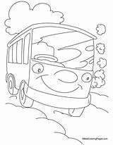Van Coloring Pages Caravan Cartoon Template Doo Scooby Clip Sketch Getcoloringpages Printable sketch template