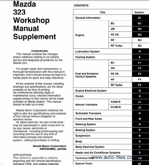 free online car repair manuals download 1985 mazda rx 7 parental controls mazda mazda 323 repair manuals download wiring diagram electronic parts catalog epc