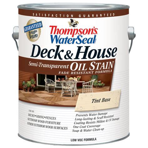 thompsons water seal deck house oil stain semi transparent