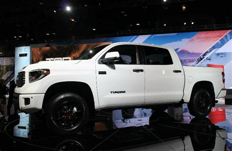 Toyota Tundra Trd Pro 2019 by Toyota Trd Pro Lineup Features Standard Fox Shocks