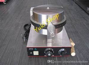 2020 Commercial Ice Cream Waffle Cone Maker Egg Roll