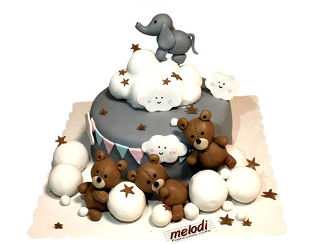 Tortë për ditëlindje fëmijë - Melodi