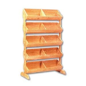tier wood barrel display stand produce display rack displays