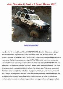 Jeep Cherokee Xj Service Repair Manual 1997 By Claris