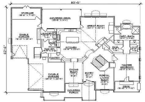4 bedroom 3 bath house for 1 bedroom 5 bath house plans 21004