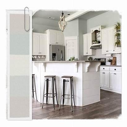 Farmhouse Colors Paint Kitchen Popular Most Interior