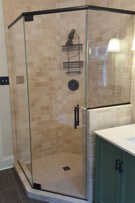 neo angle shower doors neo angle enclosures shower door experts