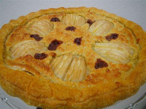 tarte amandine aux poires sans beurre la ronde des d 233 lices