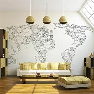 Tapisserie 4 Murs : amazing papier peint pour cuisine leroy merlin mur en ~ Melissatoandfro.com Idées de Décoration