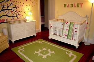 Baby Nursery Decor: monogram colour yellow baby nursery